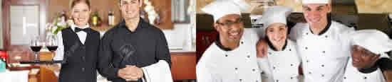 کارکنان رستوران